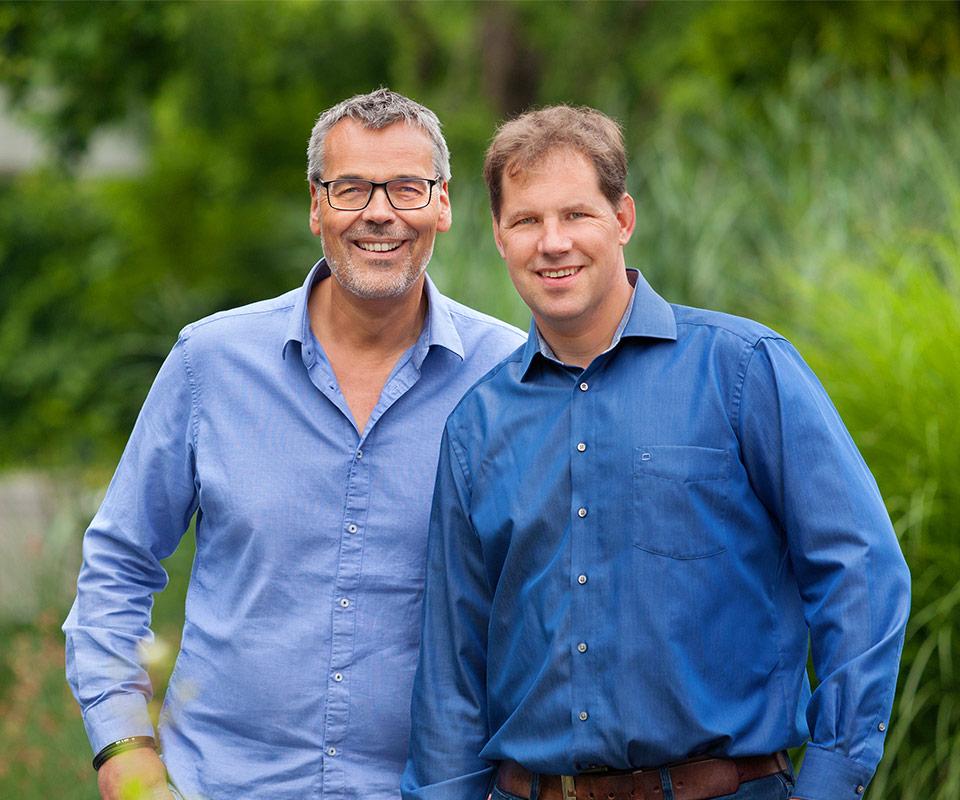 Stephan Rolf und Thomas Obernüfemann