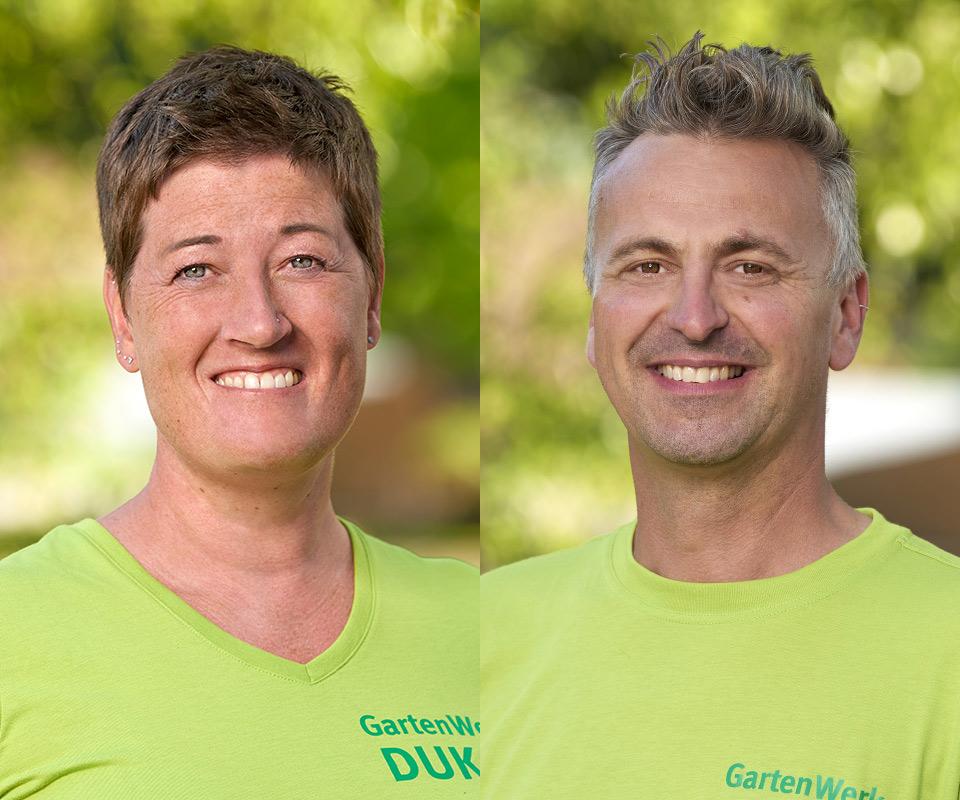 Birgit Koormann und Sven Ernst