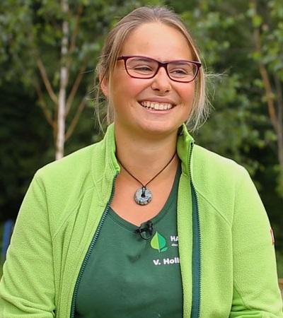 Ein Tag als Landschaftsgärtner-Facharbeiterin – Interview mit Vera Hollndonner von Haas Galabau