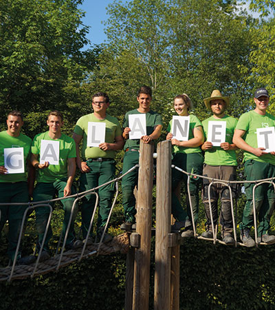 GALANET-Azubis rocken Landschaftsgärtner-Cup