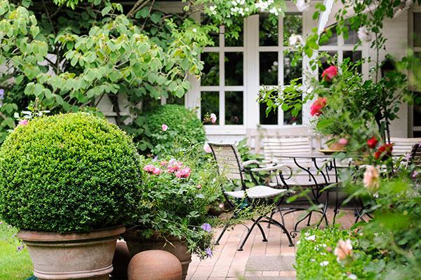hochwertige Gärten