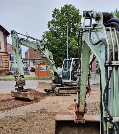 Maschinen im Galabau